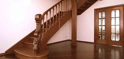 Как выбрать лестницу для частного дома