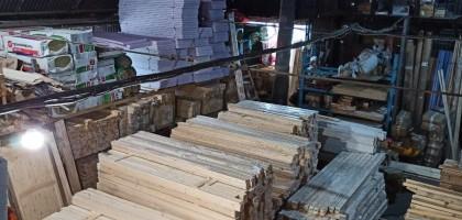 Новое поступление профилированного бруса, блокхауса, панелей из дерева
