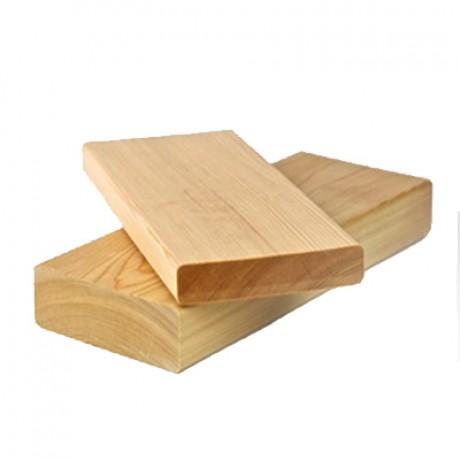 Доска террасная с лиственница гладкая сорт А