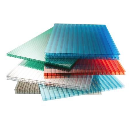 Сотовый поликарбонат цветной 2100*6000*8 мм