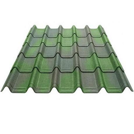 Ондувилла 3D зеленый (0,4*1,06) 0,31кв.м