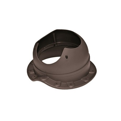 Основание вентиляционной трубы Base-VT110 Wave метал/ч