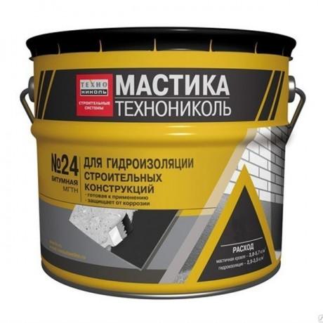 Мастика гидроизол.Технониколь № 24 антикорозия 1/3 кг