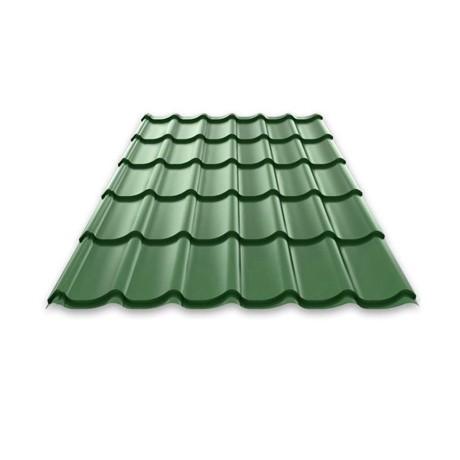 Металлочерепица Монтерей 1100*1180*0,5 (3005 зеленый мох)