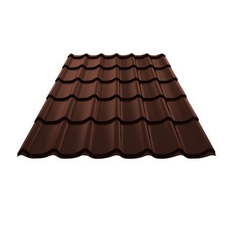 Металлочерепица Монтерей 1100*1180*0,5 (3005 шоколад)