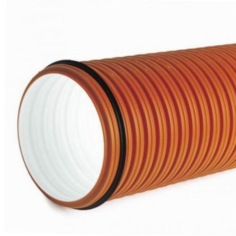 Труба раструбная гофр. D -315(272) *5м