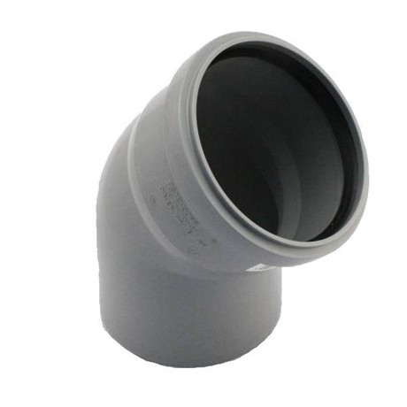 Отвод сифона DN 100-45 полипропилен