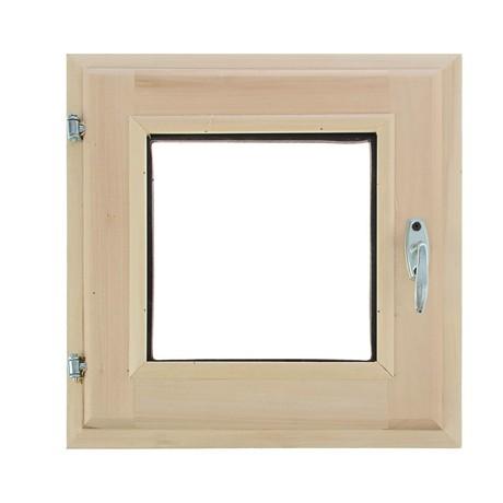 Окно банное Липа 300*300мм