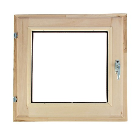 Окно банное Липа 450*450мм