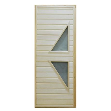 Дверь банная Тип 7 (остекл) 1800*700