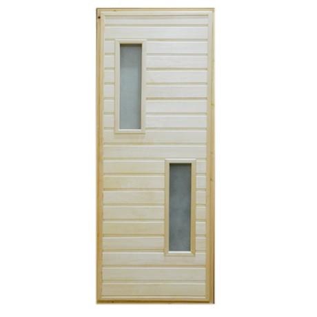 Дверь банная Тип 2 (остекл)  1800*700 мм