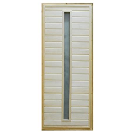 Дверь банная Тип 3 (остекл) 1800*700