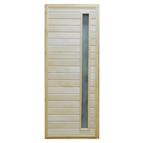 Дверь банная Тип 5 (остекл) 1800*700