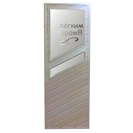 Дверь банная H-17 1800*700 Липа