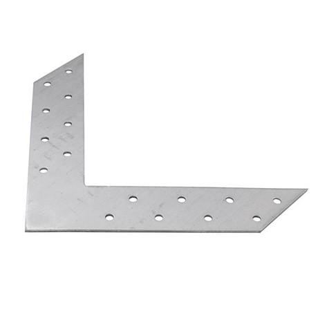Пластина угловая соединит. 145*145*35*2мм