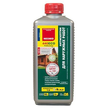 Неомид 440 (1л) деревозащитный состав для наружных работ