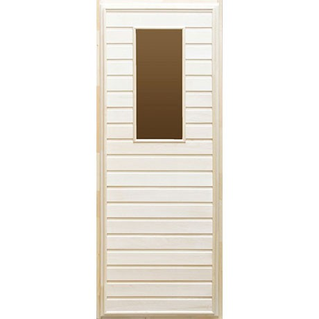 Дверь банная Тип 4 (остекл) 1800*700