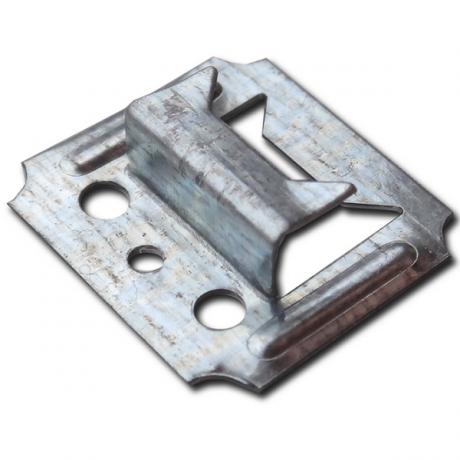 Кляймер - скоба для крепления вагонки и панелей №7