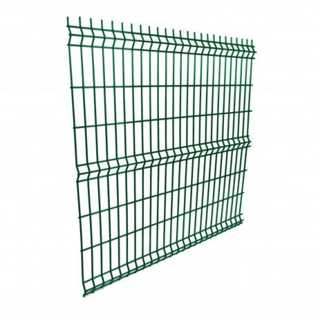 Панель заборная зеленая 4,5*50*200*800*2000 мм