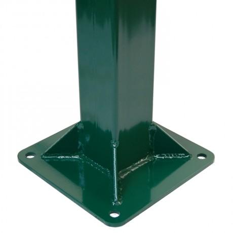 Столб к забору 2,2*60*60*1500 мм с фланцем