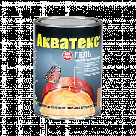 Акватекс-гель защитно-декоративное покрытие для дерева 0,75л б/цв