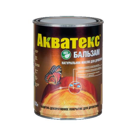 Акватекс-бальзам натуральное масло для дерева 0,75л ДУБ