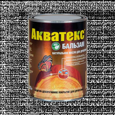 Акватекс-бальзам натуральное масло для дерева 0,75л махагон