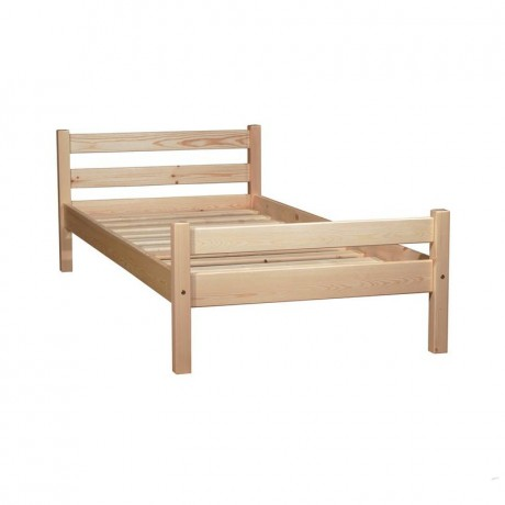 Кровать Классика 900 х 2000 сосна, без покраски