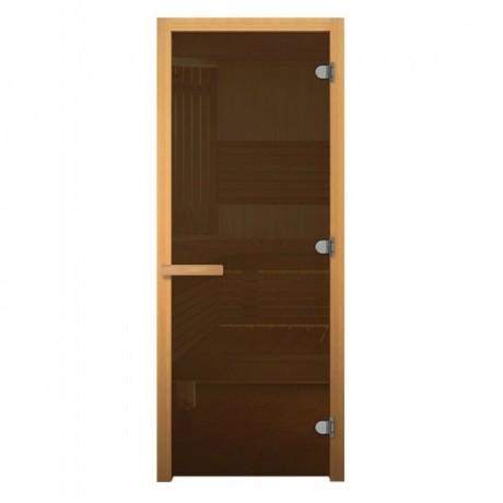 Дверь банная  Бронза Матовое 1900*700мм