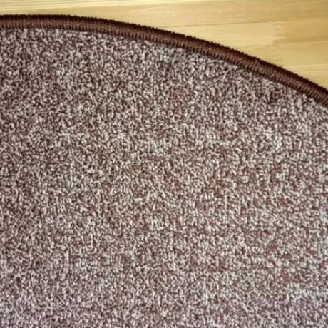 Коврик Пальмира коричневый 25*65