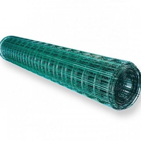 Сетка сварная  ОЦ  ПВХ  1,9 *100*50мм разм.1,5*20 зеленая