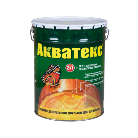 Акватекс-гель защитно-декоративное покрытие для дерева 2,7л груша