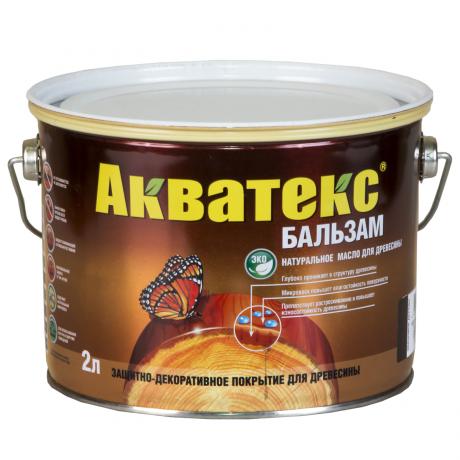 Акватекс-бальзам 0,75 л тик натуральное масло для дерева