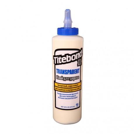 Клей для дерева FT Titebond Transparent 473 мл