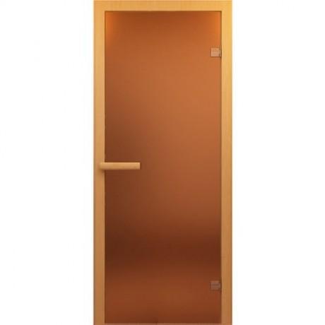 Дверь банная Бронза 1890*690мм *6мм ТЕРМОСТЕКЛО